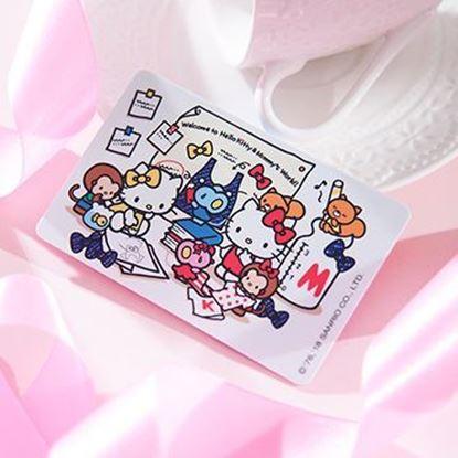 圖片 HELLO KITTY雙緞帶悠遊卡-小小設計師