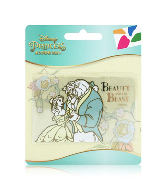 圖片 迪士尼公主系列悠遊卡-美女與野獸(半透明卡)