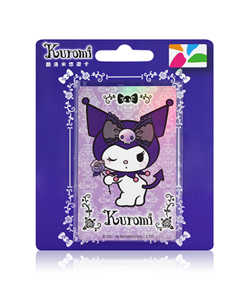 圖片 酷洛米-紫色雷絲