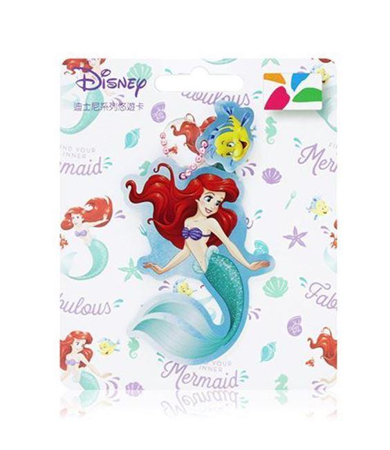 圖片 迪士尼公主系列造型悠遊卡-小美人魚