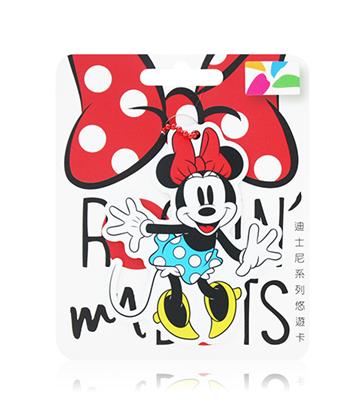 圖片 迪士尼系列造型悠遊卡-經典米妮