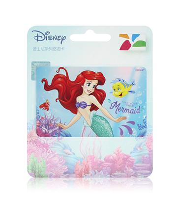 圖片 迪士尼公主系列悠遊卡-小美人魚