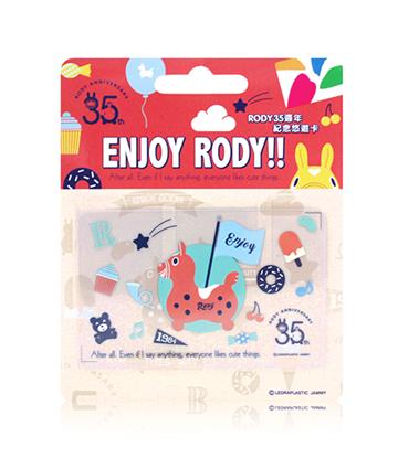 圖片 Rody35週年紀念悠遊卡