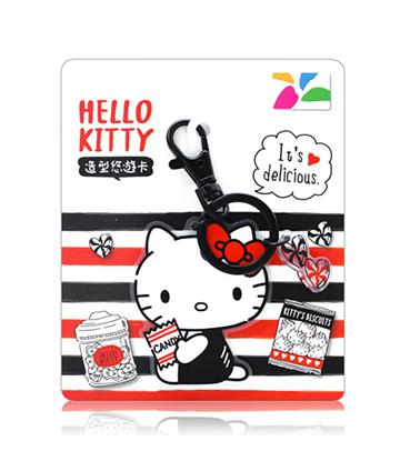 圖片 HELLO KITTY美式簡約造型悠遊卡