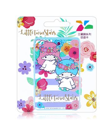 圖片 三麗鷗花草系列悠遊卡-雙星仙子