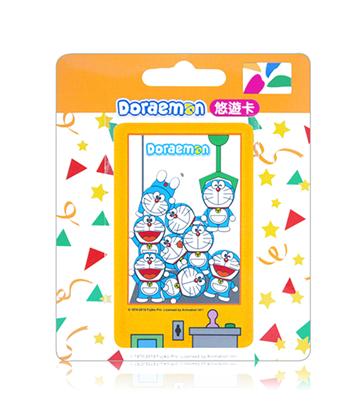 圖片 哆啦A夢悠遊卡-夾娃娃機