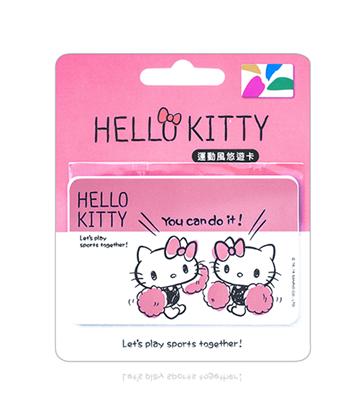 圖片 HELLO KITTY悠遊卡-元氣啦啦隊