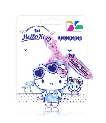 圖片 HELLO KITTY造型悠遊卡-粉嫩一夏