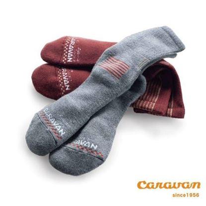 圖片 【日本Caravan】RL.Merino Alpine 中性登山羊毛襪 針織襪 (共2色)