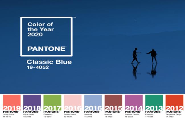 最新消息 經典回歸,國際色彩權威 Pantone