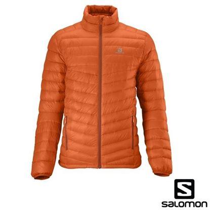 圖片 Halo Down Jacket 男性帽羽絨衣夾克(橘)
