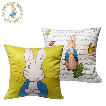 圖片 比得兔-經典圖案抱枕
