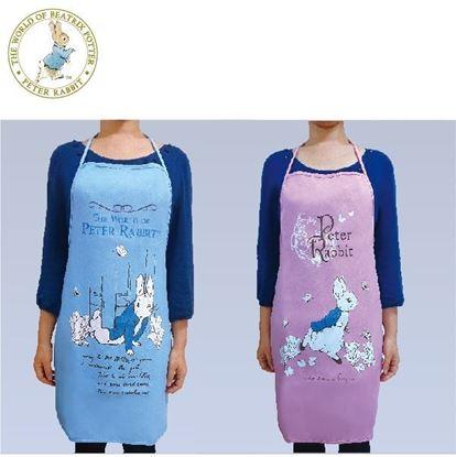 圖片 比得兔-經典圖案簡易綁帶圍裙