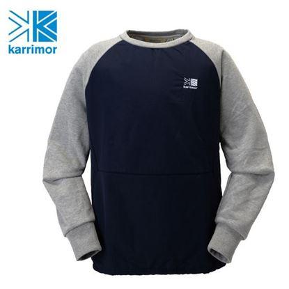 圖片 Karrimor vista TL crew 中性保暖圓領長袖 T-shirt 餘燼灰