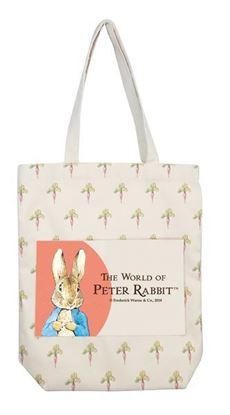 圖片 比得兔-吃蘿蔔購物袋