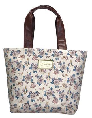 圖片 【比得兔】手挽包-山茶花米色