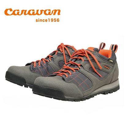 圖片 【日本Caravan】C7_03 低筒登山健行鞋 -灰