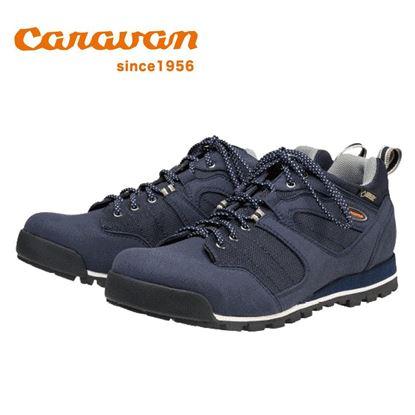 圖片 【日本Caravan】C7_03 低筒登山健行鞋-海軍藍