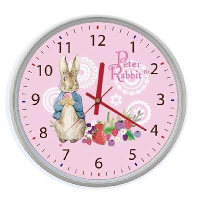圖片 比得兔-草莓時鐘