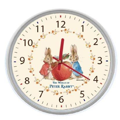 圖片 比得兔-蘋果時鐘