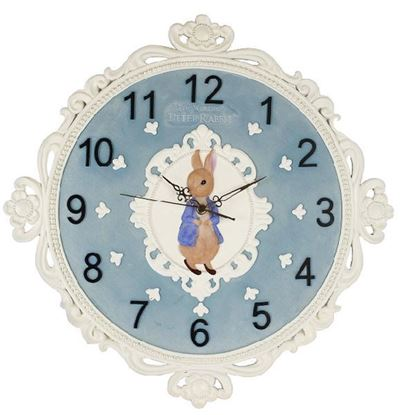 圖片 比得兔-北歐風經典壁鐘