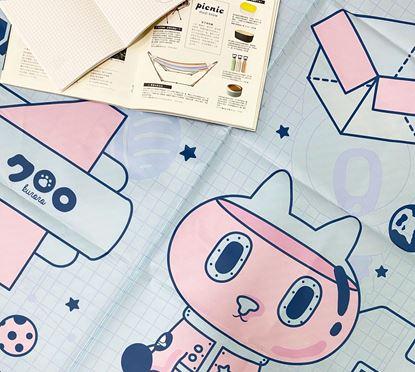 圖片 Kuroro 不可思議的貓科學款—野餐墊