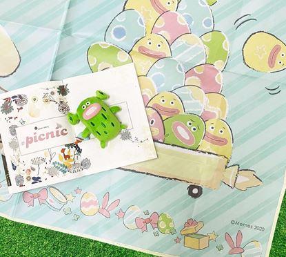 圖片 Kuroro 兔兔送貨員款—野餐墊