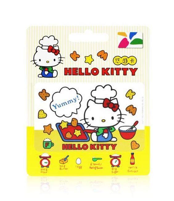 圖片 HELLO KITTY悠遊卡-烤餅