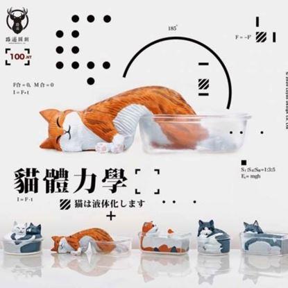 圖片 貓體力學系列公仔-全5種販售