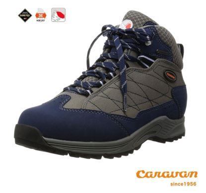 圖片 【日本Caravan】 C1_HIKE 輕中筒登山健行鞋 - 海軍藍