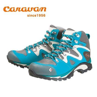 圖片 【日本Caravan】 C4-03 女性專用戶外登山健行鞋 空青石藍