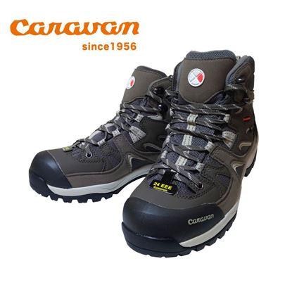 圖片 【日本Caravan】 C6_02W 中筒中性登山健行鞋 亞洲限定版 堅果褐