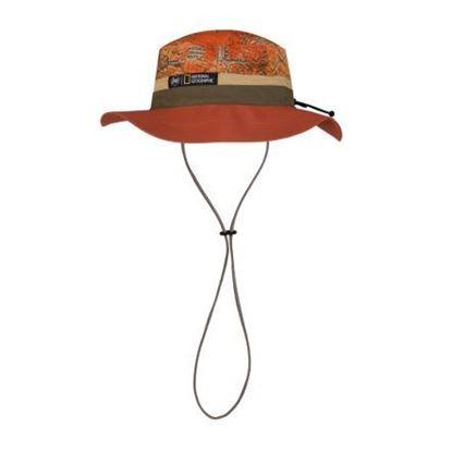 圖片 【BUFF】可收納圓盤帽-國家地理頻道-鐵鏽遊牧