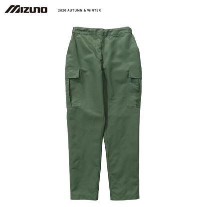 圖片 【美津濃MIZUNO】男款平織長褲 (軍綠)