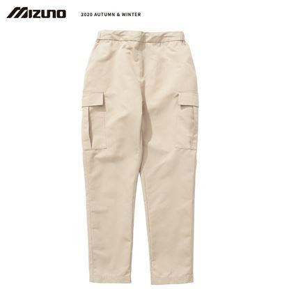圖片 【美津濃MIZUNO】男款平織長褲(卡其)