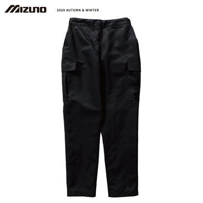 圖片 【美津濃MIZUNO】男款平織長褲(黑)