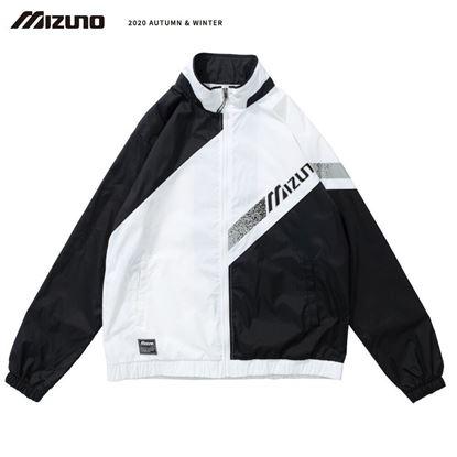 圖片 【美津濃MIZUNO】男款平織外套 (黑白)