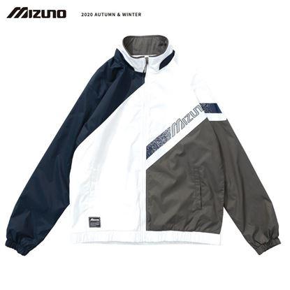 圖片 【美津濃MIZUNO】男款平織外套(深丈青)