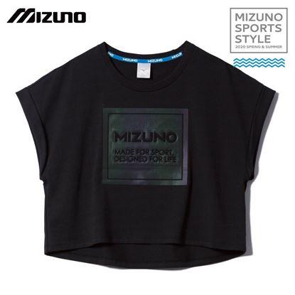 圖片 【美津濃MIZUNO】女款短袖T恤(黑)