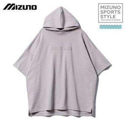 圖片 【美津濃MIZUNO】女款連帽針織上衣(灰)