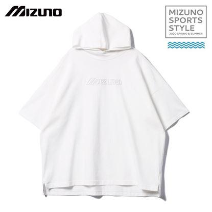 圖片 【美津濃MIZUNO】女款連帽針織上衣 (白)