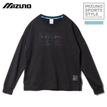 圖片 【 美津濃MIZUNO】女款長袖T恤 (黑)