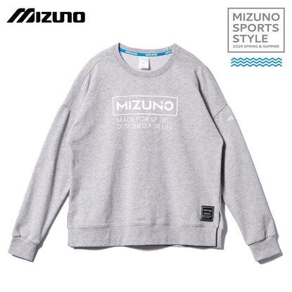 圖片 【 美津濃MIZUNO】女款長袖T恤 (灰)