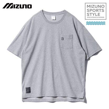 圖片 【 美津濃MIZUNO】男款短袖T恤 (灰)