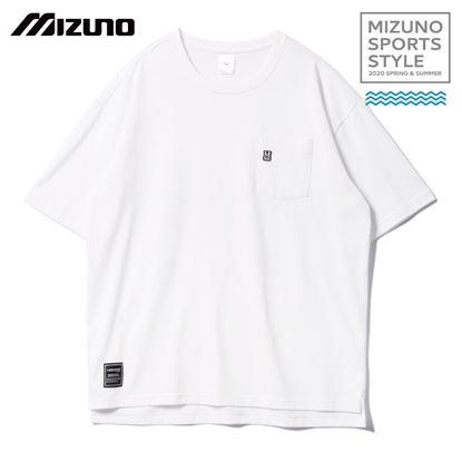 圖片 【 美津濃MIZUNO】 男款短袖T恤 (白)