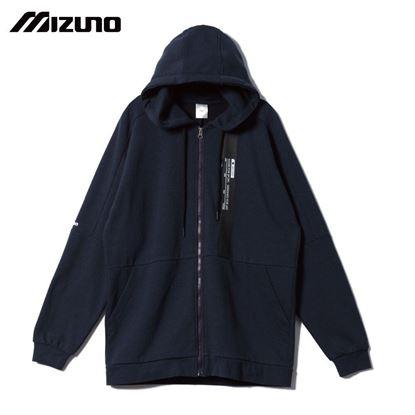 圖片 【美津濃MIZUNO】男款針織外套 (深丈青)