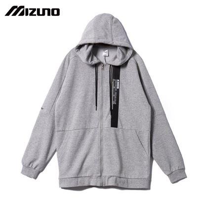 圖片 【美津濃MIZUNO】男款針織外套(灰)