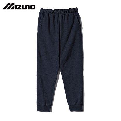 圖片 【美津濃MIZUNO】男款針織長褲(深丈青)