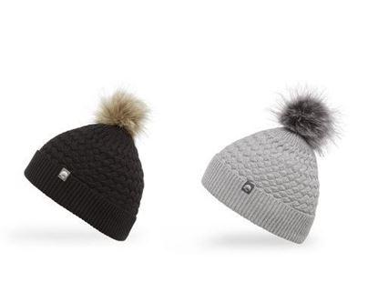 圖片 羊毛混紡針織毛球帽 Snow Drop Beanie (OS)