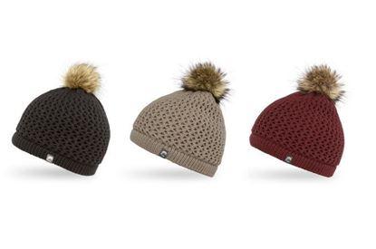 圖片 羊毛混紡針織保暖帽 CELESTE